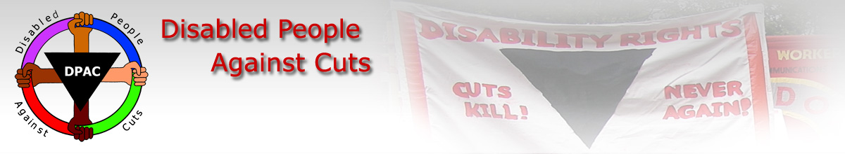 DPAC Disabled People Against Cuts